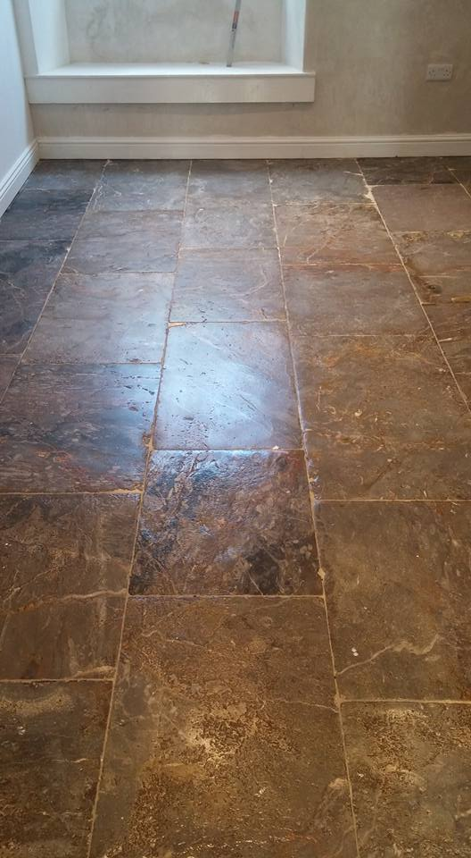 Plymouth Limestone Floor Plymouth After Restoration